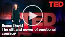 Screenshot of Susan David: The gift and power of emotional courage | TED Talk